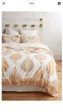 Anthropologie Fortuna Duvet Cover QUEEN - NWT