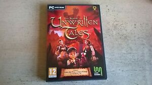 THE BOOK OF UNWRITTEN TALES - PC GAME - COMPLETE WITH ART BOOK, MAP & SOUNDTRACK