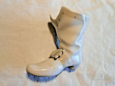 VINTAGE NAO BY LLADRO MUSKETEER  BOOT RETIRED GLAZED PORCELAIN