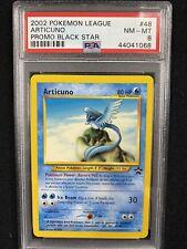 2002 Pokemon League Black Star Promo Articuno #48 PSA 8 NM-MT