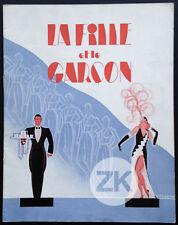 LA FILLE ET LE GARCON Opérette UFA Thiele ACE Lilian HARVEY René PERON DP 1931