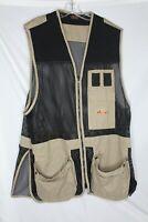 FIELDLINE Mens Shooting Hunting Skeet Trap Vest Fishing Size XL/XXL w/ Glasses