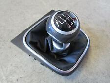 6-Gang Leder Schaltknauf VW Golf 5 GTI schwarz Knauf Schaltsack 1K0711113BE