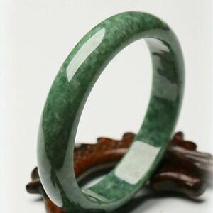 Gorgeous Natural Green HighQ AAA+ JADE Jadeite Bangle Bracelet Women Ø61-64mm UK