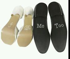Wedding Party Shoes Decoration I Do Me Too Acrylic Rhinestone Stickers