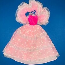 BARBIE DREAM GLOW FASHIONS ABITO 1985 CHRISTIE STEFFIE SUPERSTAR 70 80 1980