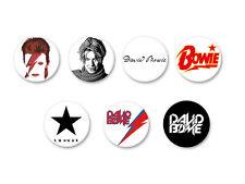 Lot Pack Badge Button Ø25mm David Bowie Ziggy Stardust Singer Music UK
