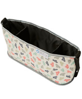 Keep Me Cosy™ Pram & Stroller Organiser, Cup Holder Caddy Bag - Paper Boat