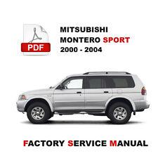 automotive pdf manual ebay stores rh ebay com 2000 montero sport repair manual o2 sensors 2001 mitsubishi montero sport repair manual pdf