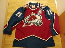 Authentic Colorado Avalanche Starter Jersey #21 Peter Forsberg sz. 54