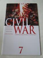 CIVIL WAR # 7  1ST PRINT  STEVE MCNIVEN  Mike Millar Avengers MARVEL COMICS