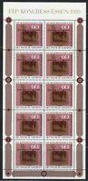 Germany 1980 MNH Mi 1065 KLB Sc B581 Post House,Altheim,Saar.FIP congress **