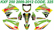 325 KAWASAKI KXF 250 2009-2012 Autocollants Déco Graphics Stickers Decals Kit