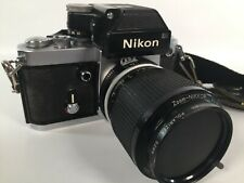 Nikon F2 35mm SLR Film Camera with Nikkor 43-86mm Zoom Lens Samigon 52mm & Case