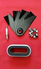 Sanli Lawn Mower Service Kit, Blades PSS-LB1 Spark Plug and Air Filter PSS-AF1
