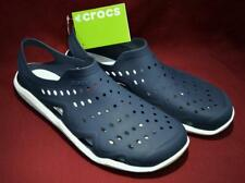 Crocs Swiftwater Wave Men's Water Shoes - Sure Fit Style - Navy / White Size 11