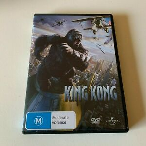 King Kong Movie DVD Region 4 AUS Free Postage - Action Naomi Watts