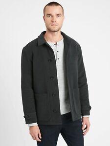 BANANA REPUBLIC Men's Italian Moleskin Short Coat NEW WITH TAGS RETAILS $269