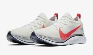 Nike Zoom VaporFly 4% Flyknit Ekiden White Crimson AJ3857-160 Men's Size 12.5