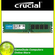 16GB DDR4 2400Mhz CRUCIAL Premium CT16G4DFD824A Single PC4-19200 Desktop RAM F43