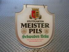 Stuttgarter Miester Pils Schwaben Bräu Zapfhahnschild M867 Reklameschild