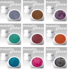 9 x 4 ml Metallic Glitter Gel SET Nr.4 *ANGEBOT**