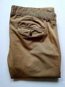 River Island Men's Chino Beige Pants Size 34 UK Cotton