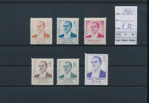 LN73175 Turkey 1961 Ataturk fine lot MNH cv 32 EUR