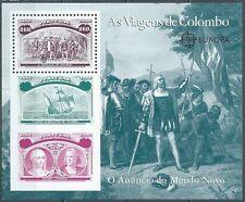 1992 PORTOGALLO FOGLIETTO COLOMBO CONGIUNTA ITALIA MNH ** - ED3