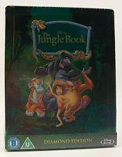 STEELBOOK Disney THE JUNGLE BOOK New Region B & C