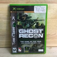 Tom Clancy's GHOST RECON XBOX Game of the Year Disk w/ Clamshell Case UbiSoft
