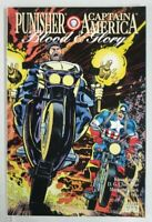Punisher Captain America Blood & Glory #2 Marvel Comics 1st Print 1992 Unread VF