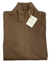Brunello Cucinelli Mens Iconic Strickjacke Cardigan Knitwear Jacke Pullover 46