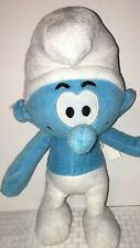 "The Smurfs 10"" Plush Blue WHITE"
