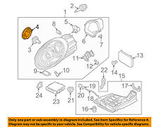 PORSCHE OEM 09-12 911 Headlight Head Light Lamp-Protect Cap 99763121100