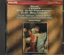 Mozart: Messe Kv 65, Kv 140, Kv 167 / Herbert Kegel, Andreas Schmidt, Donath  CD