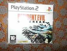 Resident Evil Outbreak PS2 promo (PAL) game