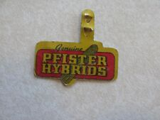 Cf23 Vintage Tobacco Tag Pfister Hybrids Farm Ear Corn Advertising Rare