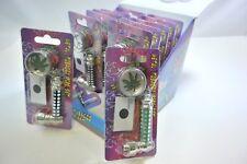 Master Carton (12pc SET) Metal Tobacco Smoking Pipe /Screens /Mini Grinder