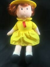 Kids Gifts Madeline Talking doll Plush Yellow Paris