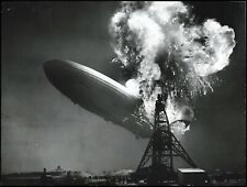 1937 Zeppelin LZ 129 Hindenburg Type 2 Original Photo PSA/DNA *ICONIC*