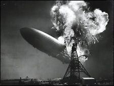 1937 Zeppelin LZ 129 Hindenburg Crash Lakehurst Original Photo PSA/DNA *ICONIC*