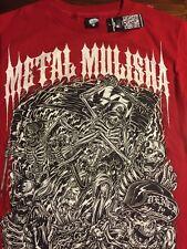Men's Metal Mulisha T Shirt, Size Small