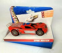 Hot Wheels Vintage Spine Buster with Lights & Sound - New #20788 ( 6 Inch )