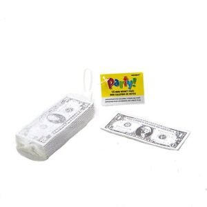 8 MINI MONEY PADS - Party Loot Bag Fillers/Favours/Toys/Kids/Party/Dollars/Bank