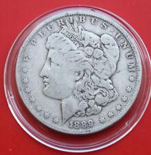 USA-Amerika: 1 Morgan Dollar 1889-O Silver, KM# 110, #F1815