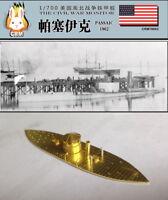 PE kit 1/700 American Civil War Monitor ironclad warship USS Passaic (1862)