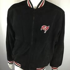 POTLIGHT Genuine Leather Tampa Bay Buccaneers Bucs Jacket Men Medium