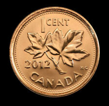 (3-coins) 2012 logo non-magnetic Canada   1 cent     UNC. coin from roll
