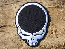 C053 ECUSSON PATCH THERMOCOLLANT aufnaher toppa TETE DE MORT grateful dead